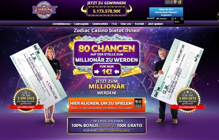 zodiac casino website
